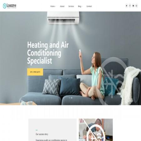 绿色家电维修公司网站模板