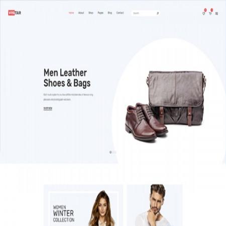 粉色外贸电商网站模板