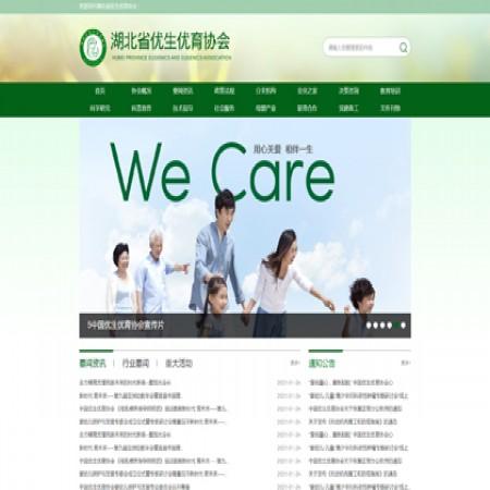 协会网站模板